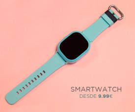 Imagem da campanha Smartwatch desde 9.99eur