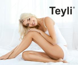 Imagem da campanha Teyli Lingerie - Nova Coleção