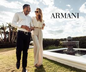 Imagem da campanha Armani