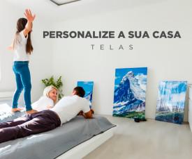 Imagem da campanha Personalize a sua Casa!