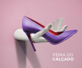 Imagem da campanha Feira do Calçado 72H