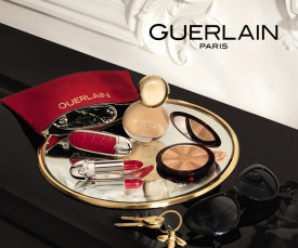 Imagem da campanha Guerlain Maquilhagem