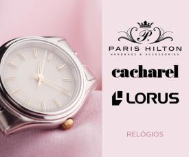 Imagem da campanha Cacharel, Lours e Paris Hilton