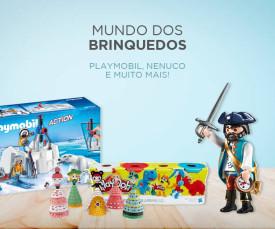 Imagem da campanha 72H Mundo dos Brinquedos Stock-Off
