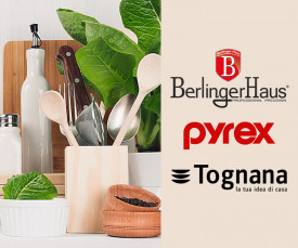 72h Especial Cozinha (Berlinger, Tognana, Pyrex, Le Creuset)