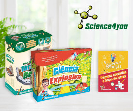 Dia da Criança! Novidades Science4You