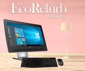 Imagem da campanha Ecorefurb! Desktops e Monitores recondicionados