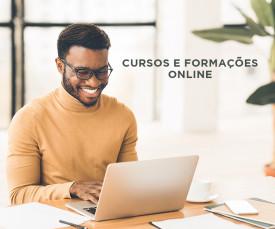 Imagem da campanha Cursos Online - Aprenda em Casa!