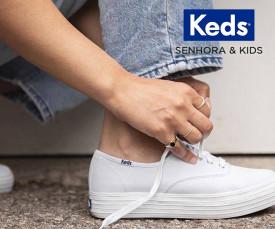 Imagem da campanha Keds