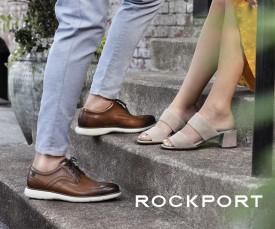 Imagem da campanha Rockport