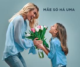 Imagem da campanha Mãe há só uma!!!