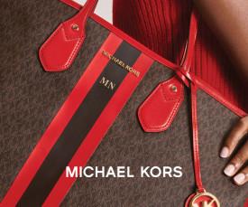Imagem da campanha Michael Kors Bags