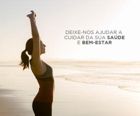 Imagem da campanha Deixe-nos ajudar a cuidar da sua saúde e bem-estar!!