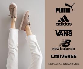 Imagem da campanha Especial Sneakers Entrega em 72h