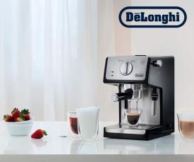 Imagem da campanha DeLonghi
