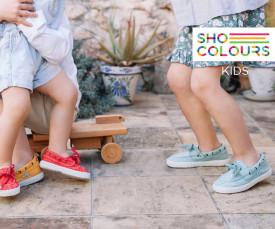 Imagem da campanha Shoe Colours Criança