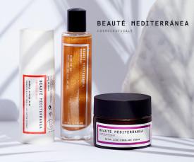 Imagem da campanha Beauté Mediterranea Novidade