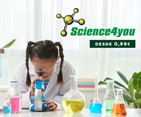 Imagem da campanha 72H Science4you desde 0,99Eur