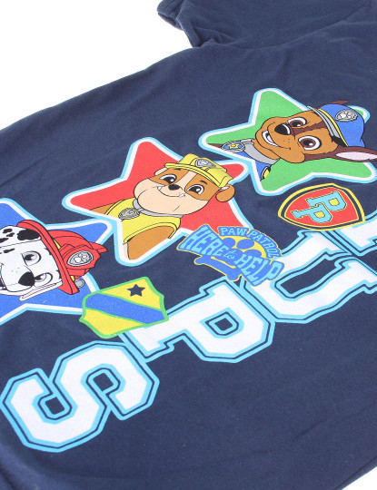 T-shirt Top Pups Azul Navy
