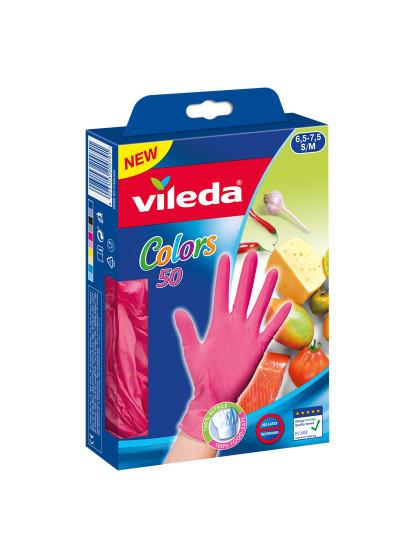 Luvas Descartáveis Colors 50 P/M