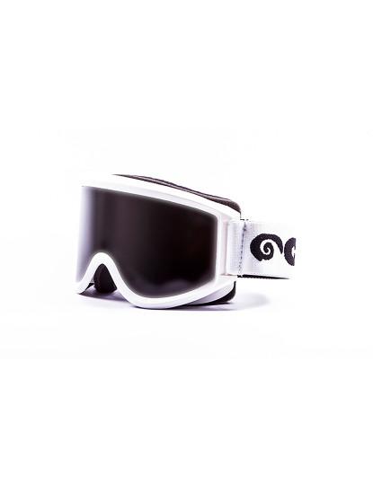 8c59711f44f2f Óculos Ocean Mammoth Armações brancas com lentes fumadas