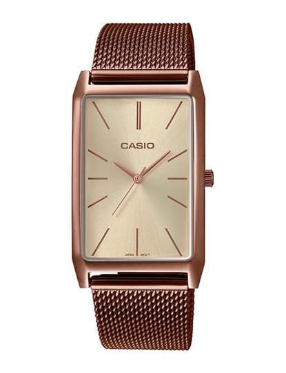 Relógio Casio Collection Senhora Dourado Rosa