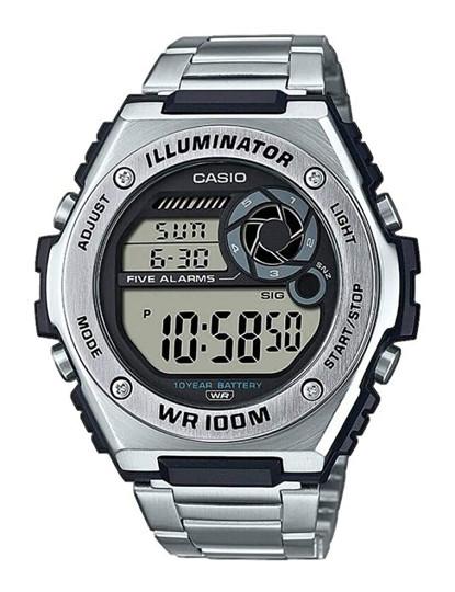 Relógio Casio Collection Homem Metalizado