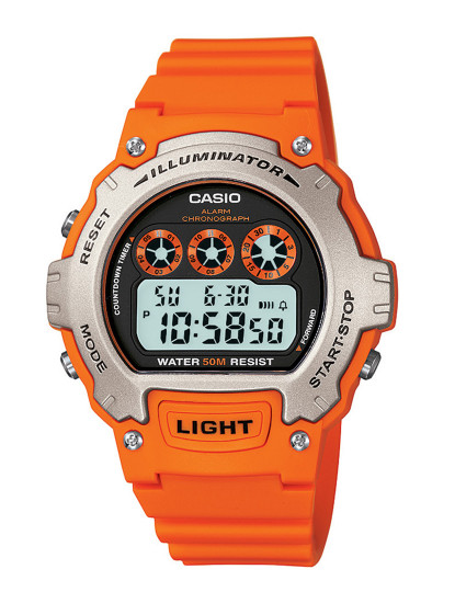 Relógio Casio Sports Unissexo Laranja
