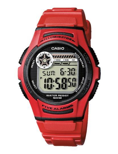 Relógio Casio Sports Unissexo Vermelho