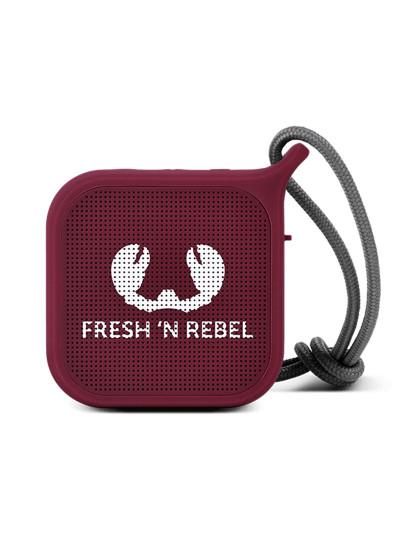 FNR Rockbox Pebble Bluetooth Speaker Ruby