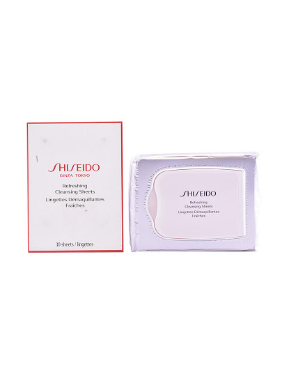 Shiseido Toalhitas De Limpeza Refrescantes The Essentials 30 Uds