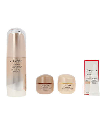 Shiseido Benefiance Wrinkle Smoothing Sérum Lote 4 Pz