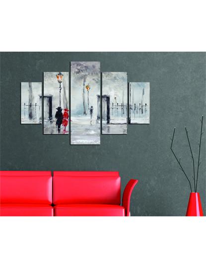 Pintura decorativa em MDF (5 Peças) ST112