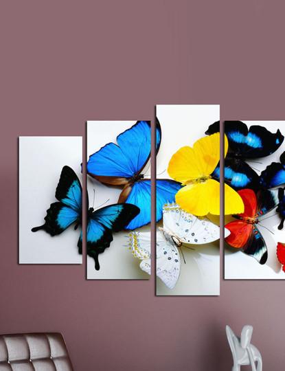 Pintura decorativa em MDF (5 Peças) 5PMDF-38