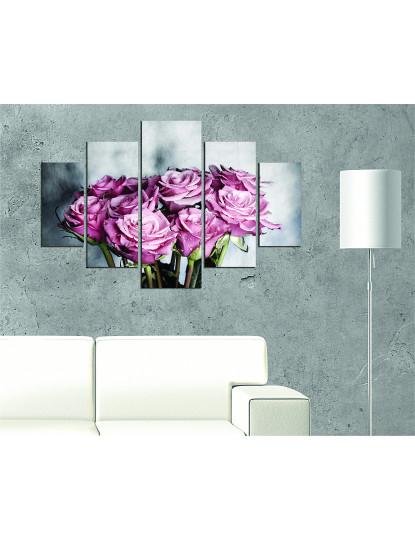 Pintura decorativa em MDF (5 Peças) ST109