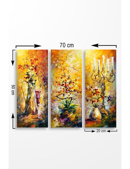 Pintura MDF  WD Multicolor (3 Peças)