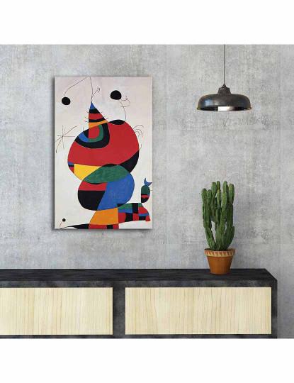 Pintura Decorativa em Tela Multicolor