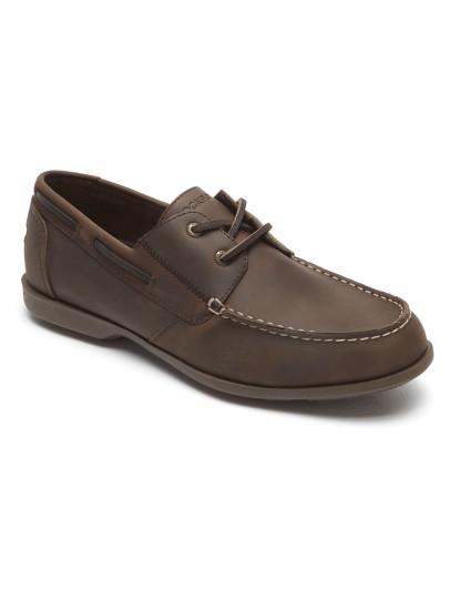 5644939a3 Sapato de Vela Rockport 2-Eye Castanho Escuro, até 2019-04-01