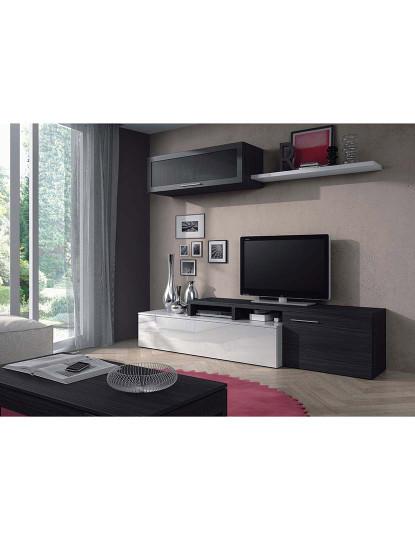 Conjunto TV Forés Nexo Branco e Cinza
