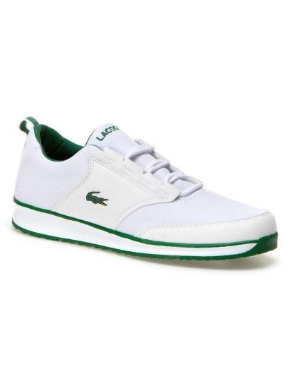 6980c81a62c Ténis Lacoste Branco e Verde
