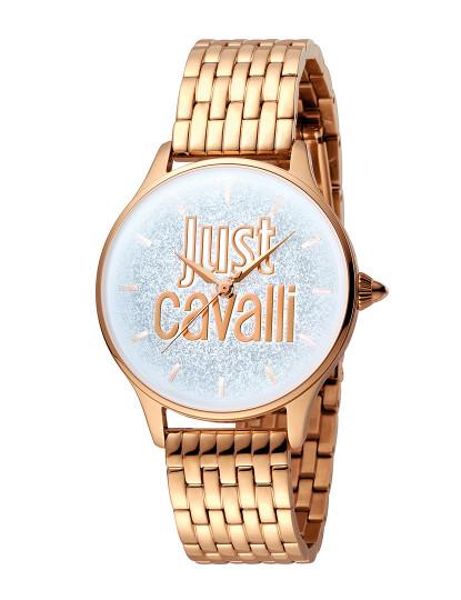6eb5356a8dd Relógio Just Cavalli Logo Prateado
