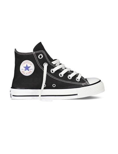 Ténis Converse Chuck Taylor All Star High Top Preto Jr., até