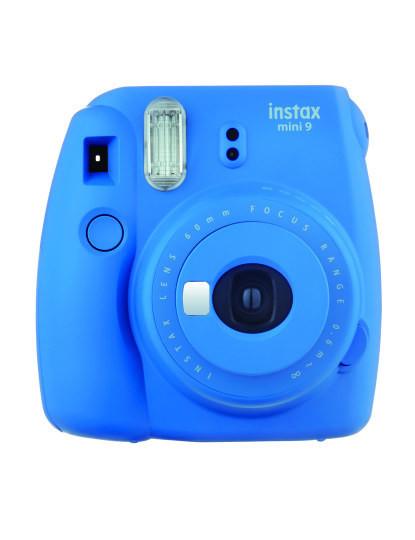 Câmara Instantânea Fujifilm INSTAX Mini 9 - Azul Elétrico