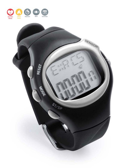 Relógio Desportivo com Medidor de Pulsa-Relógio Desportivo com Medidor de Pulsação Cardíaca Cinzento