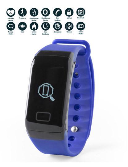 Pulseira Inteligente look like Fitbit Azul