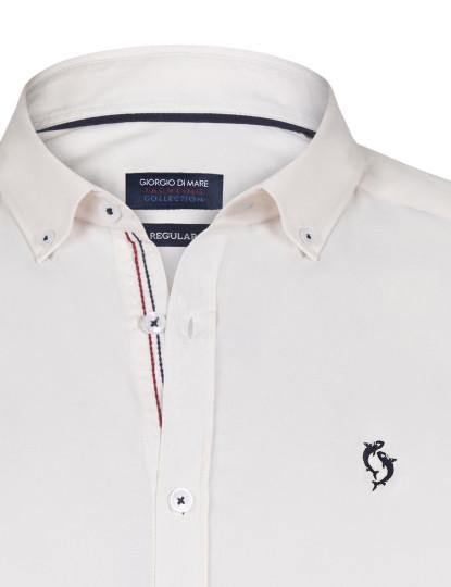 Camisa Giorgio di Mare Homem Cru