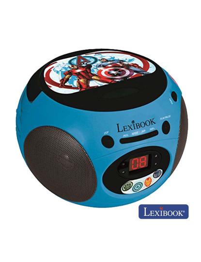 Rádio Portátil Lexibook com Leitor CD AVENGERS