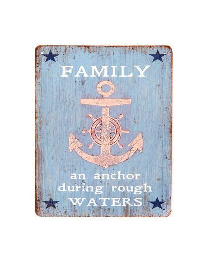 Placa Metálica Family