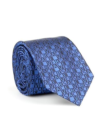 c187a06bffd9 Gravata Versace Azul
