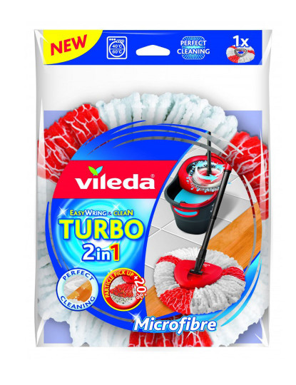 Recarga Microfibras Balde Com Pedal 2 Em 1